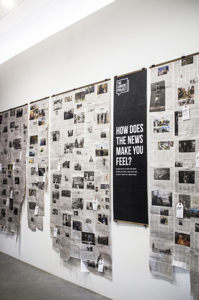 It Matters To Me:<br>Newspaper Tapestries